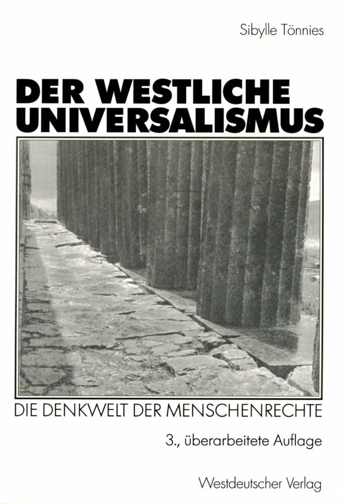 Der westliche Universalismus als Buch