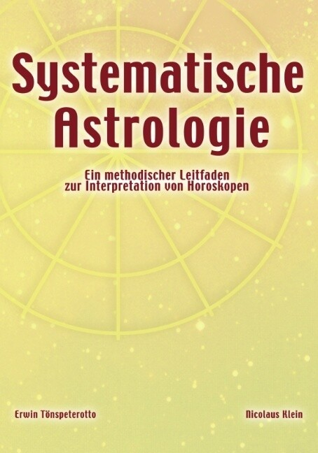 Systematische Astrologie als Buch