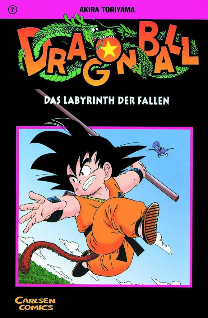 Dragon Ball 07. Das Labyrinth der Fallen als Buch