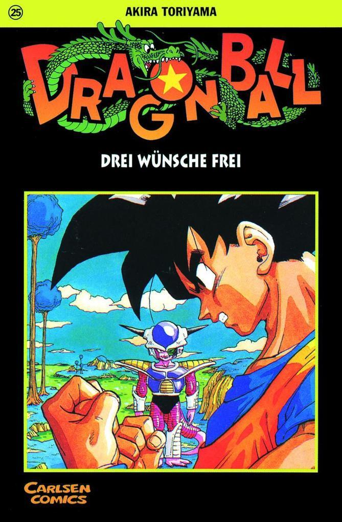 Dragon Ball 25. Drei Wünsche frei als Buch