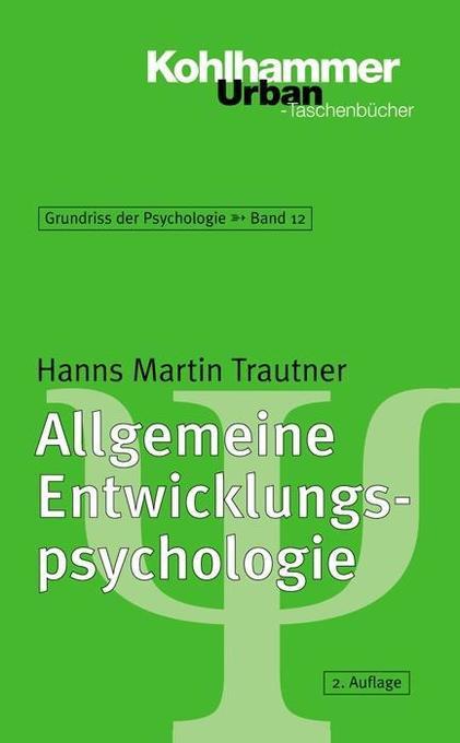Allgemeine Entwicklungspsychologie als Taschenbuch
