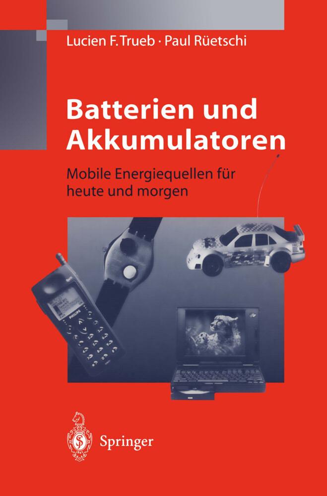 Batterien und Akkumulatoren als Buch