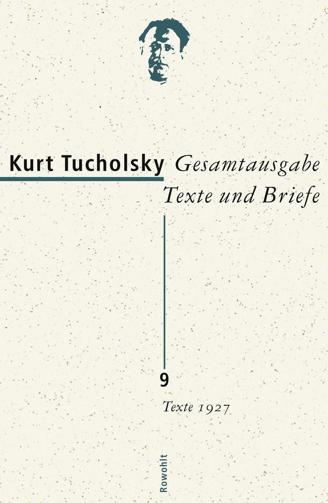 Texte 1927 als Buch