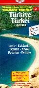 Türkei 2. 1 : 500 000. ReiseKarte als Buch