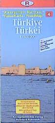 Türkei 4. 1 : 500 000. ReiseKarte als Buch