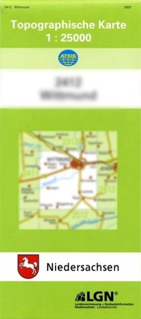 Uchte Nord 1 : 25 000 als Buch