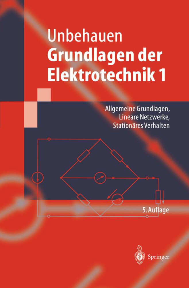 Grundlagen der Elektrotechnik 1 als Buch