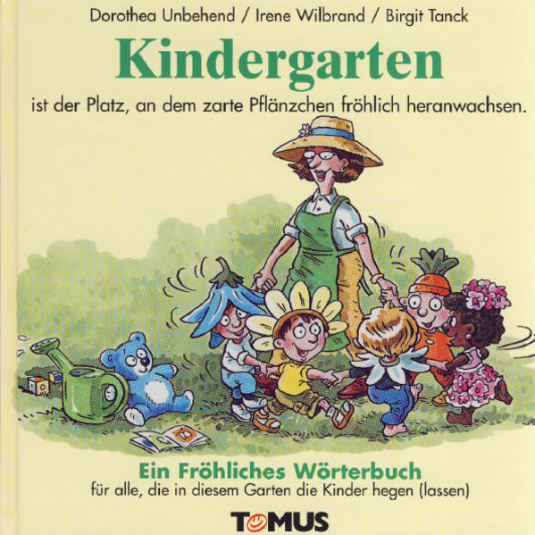 Kindergarten. Ein fröhliches Wörterbuch als Buch
