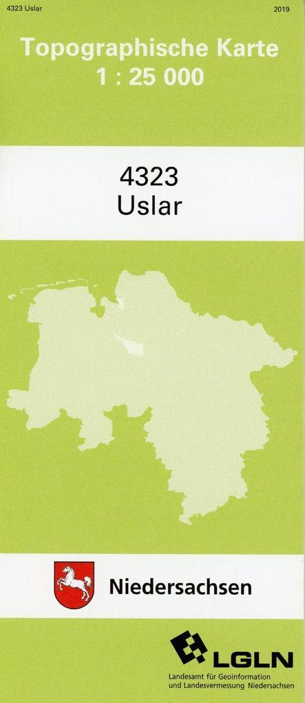 Uslar 1 : 25 000. (TK 4323/N) als Buch