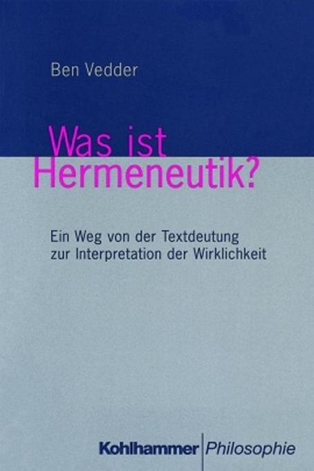 Was ist Hermeneutik ? als Buch