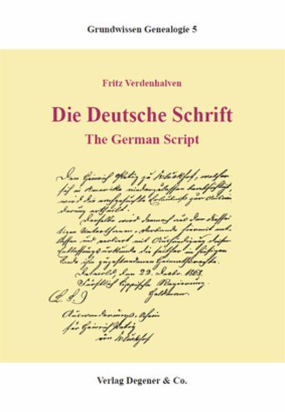 Die deutsche Schrift als Buch