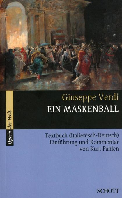 Ein Maskenball als Buch