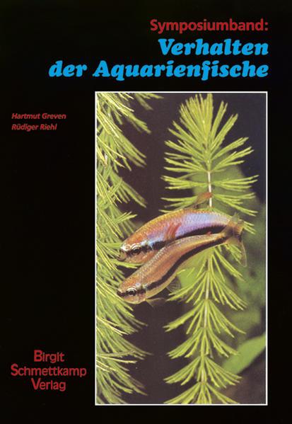 Verhalten der Aquarienfische 1 als Buch