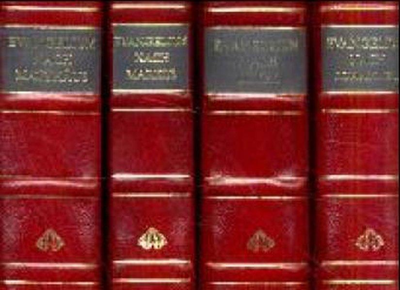 Die vier Evangelien als Buch