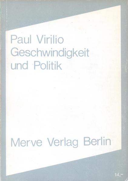 Geschwindigkeit und Politik als Buch
