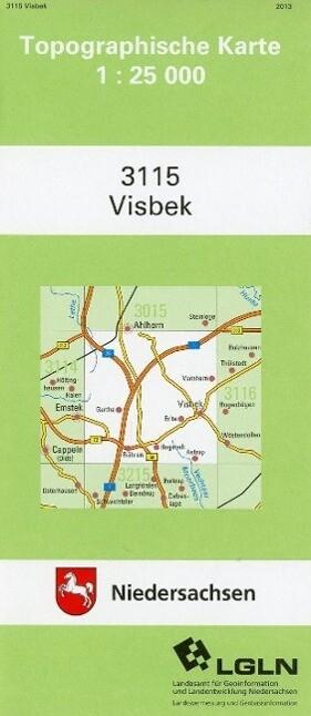 Visbeck 1 : 25 000. (TK 3115/N) als Buch