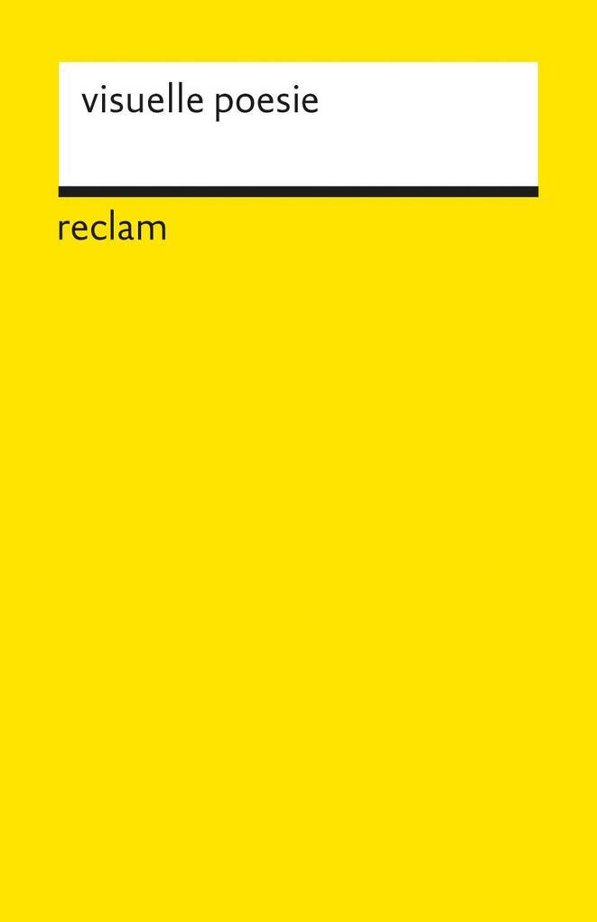 visuelle poesie als Taschenbuch