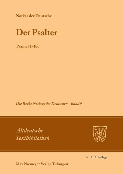 Der Psalter als Buch