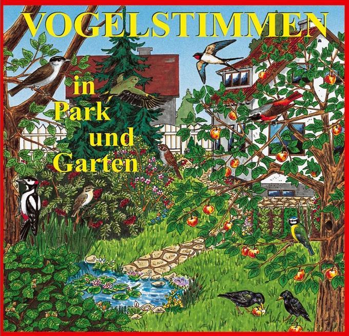 Vogelstimmen 1 in Park und Garten. CD als Hörbuch