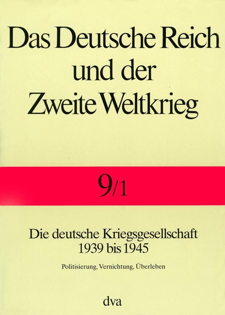 Deutsche Reich u. Zweite Weltkrieg als Buch