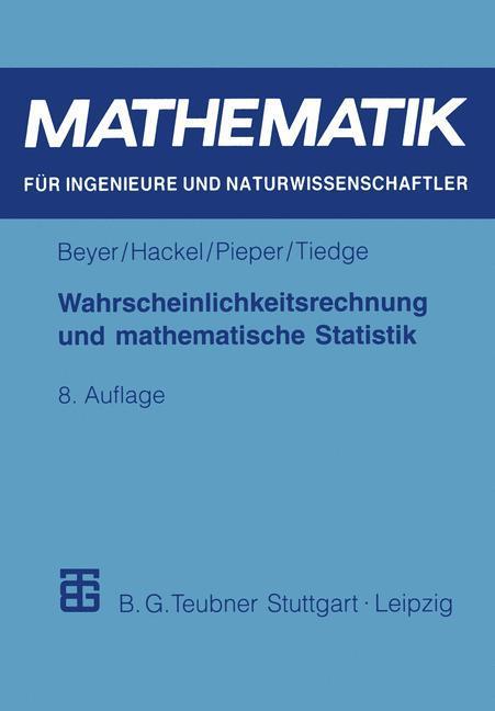 Wahrscheinlichkeitsrechnung und mathematische Statistik als Buch