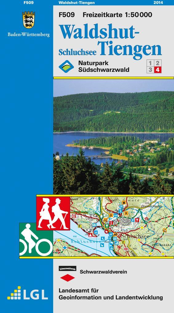 LGL BW 50 000 Freizeit Waldshut-Tiengen / Schluchsee als Buch