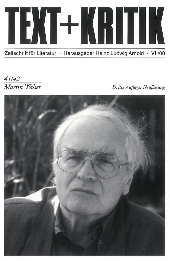 Martin Walser als Buch