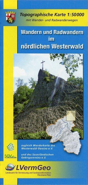 Nördlicher Westerwald 1 : 50 000 als Buch