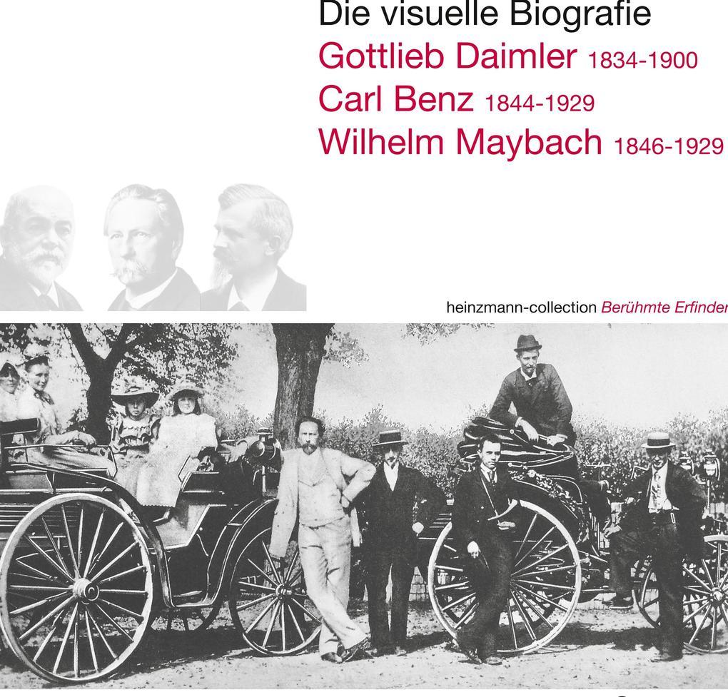 Die visuelle Biografie Daimler Benz Maybach als Buch