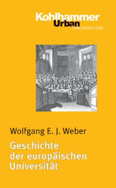 Geschichte der europäischen Universität als Taschenbuch