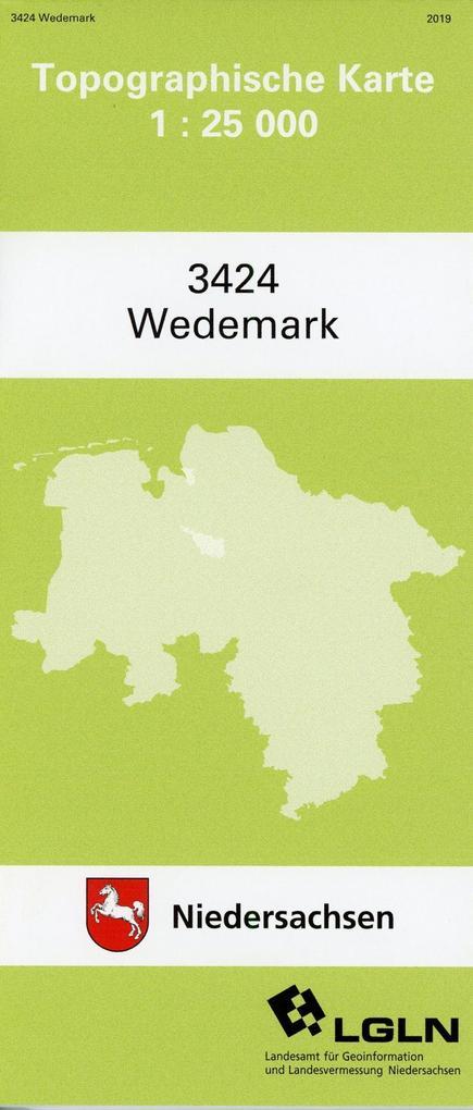 Wedemark 1 : 25 000. (TK 3424/N) als Buch