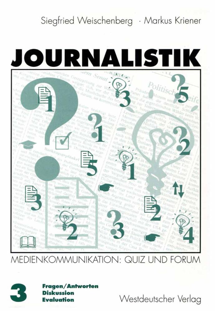 Journalistik 3 als Buch