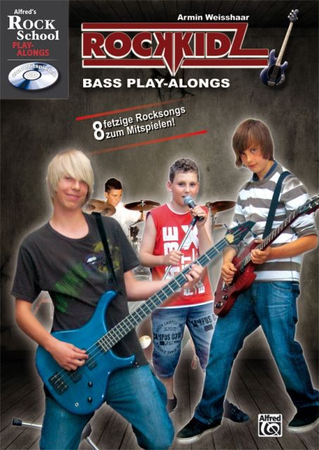 Rockkidz Bass Play-alongs
