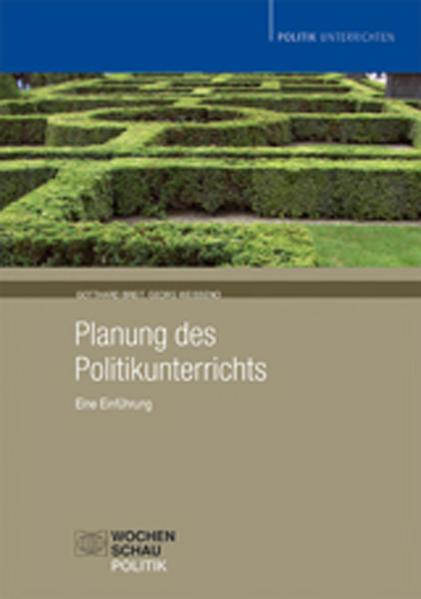 Planung des Politikunterrichts als Buch (kartoniert)