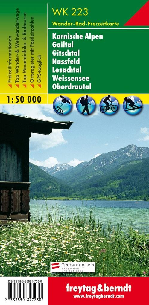 Naturarena Kärnten 1 : 50 000. WK 223 als Buch