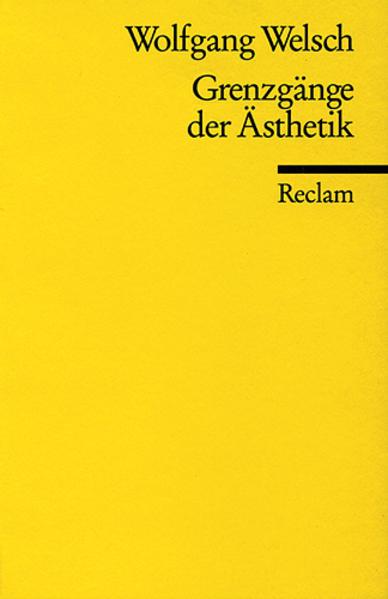 Grenzgänge der Ästhetik als Taschenbuch