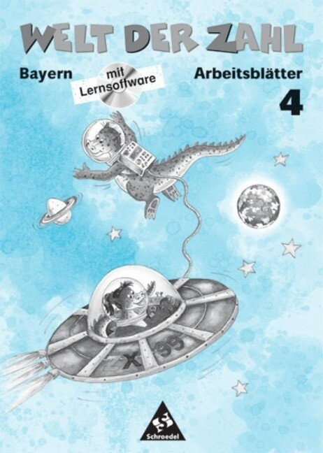 Welt der Zahl 4. Arbeitsheft mit CD-ROM. Bayern. Euro-Ausgabe als Buch