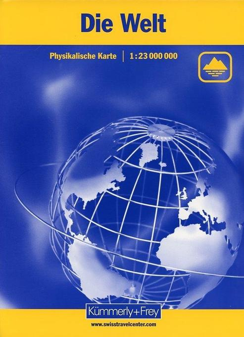 KuF Die Welt. Physikalische Karte 1 : 23 000 000 als Buch