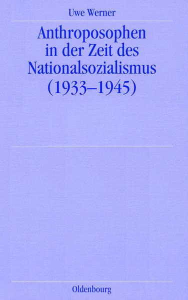Anthroposophen in der Zeit des Nationalsozialismus als Buch