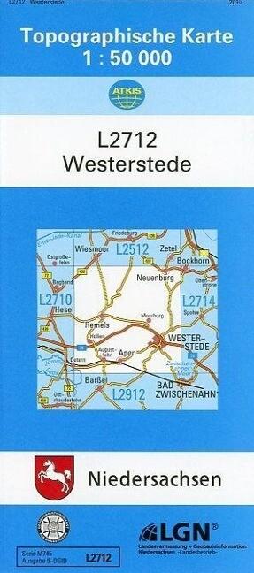 Westerstede 1 : 50 000 als Buch