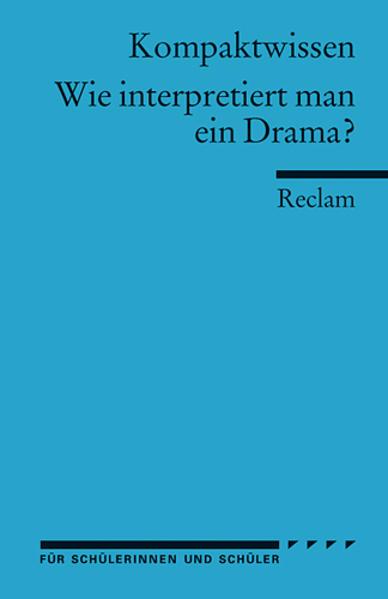 Wie interpretiert man ein Drama? als Taschenbuch