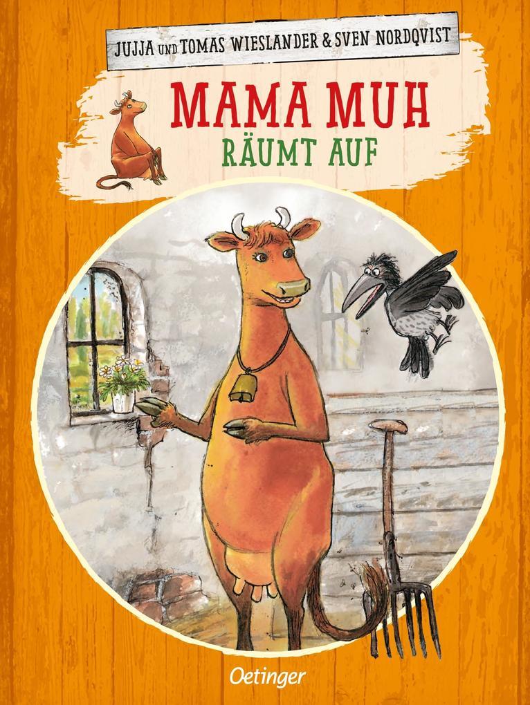 Oetinger - Mama Muh räumt auf als Buch