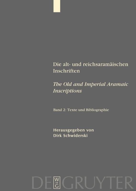 Texte und Bibliographie als Buch