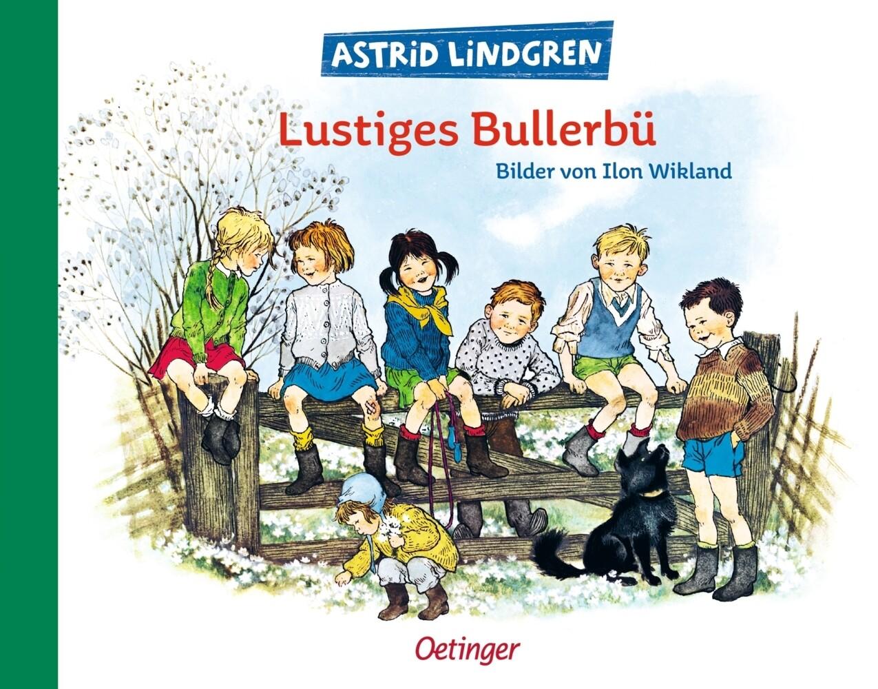 Lustiges Bullerbü als Buch