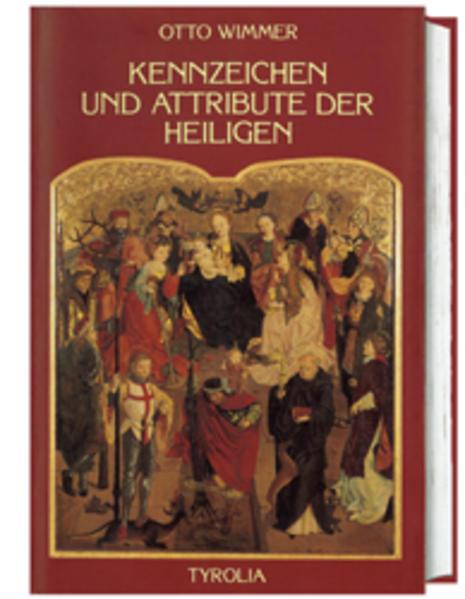 Kennzeichen und Attribute der Heiligen als Buch
