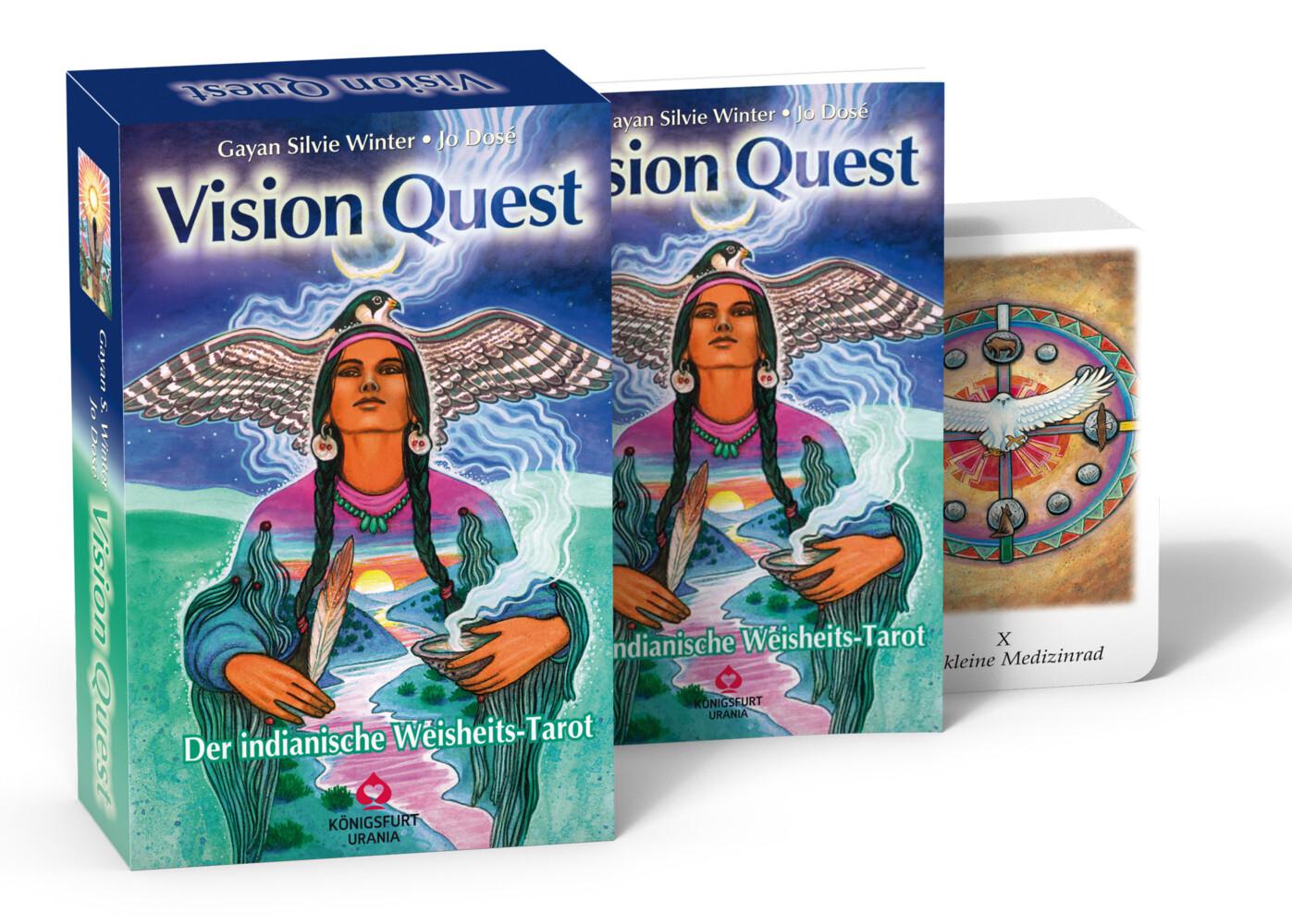 Vision Quest. Buch mit 78 Karten als Buch