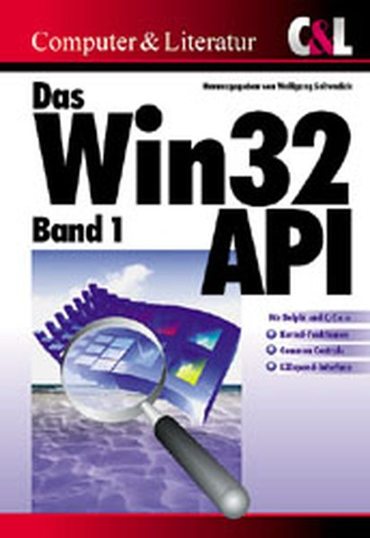 Das Win32-API 1 als Buch
