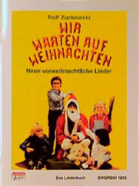 Wir warten auf Weihnachten als Buch