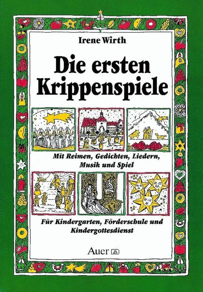 Die ersten Krippenspiele als Buch