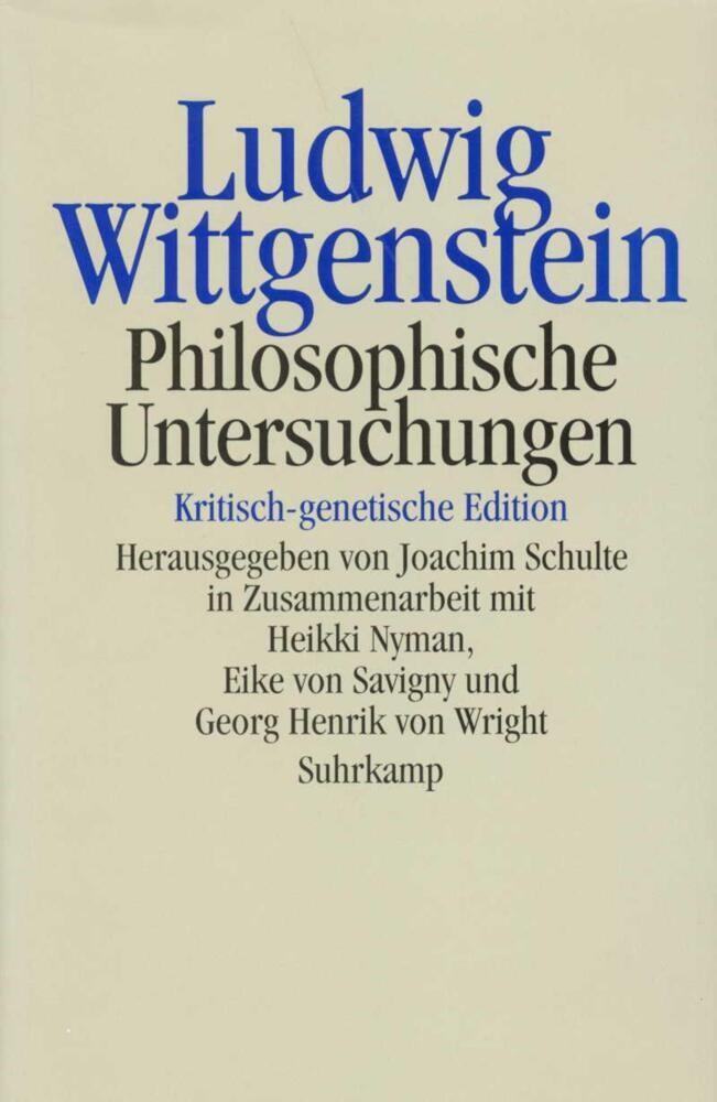 Philosophische Untersuchungen als Taschenbuch